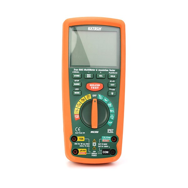 Extech MG300 Insulation Tester_01
