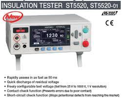 Hioki ST5520 Insulation Tester